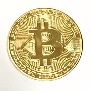 仮想通貨ビットコイン メダル(彫刻/オブジェ)