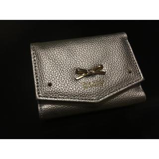 オーバータッシェ(Ober Tashe)のシルバー 財布(折り財布)