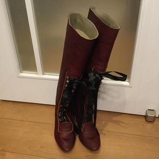ミナペルホネン(mina perhonen)のミナペルホネンのブーツ(ブーツ)