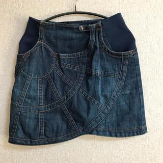 ツモリチサト(TSUMORI CHISATO)のツモリチサト tsumori chisato デニムスカート 変形スカート(ミニスカート)