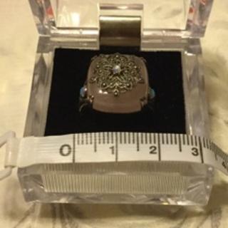 碌山 ローズクォーツ&オパールリング(リング(指輪))