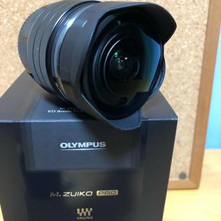 オリンパス(OLYMPUS)のM.ZUIKO DIGITAL ED 8mm F1.8 Fisheye PRO(レンズ(単焦点))