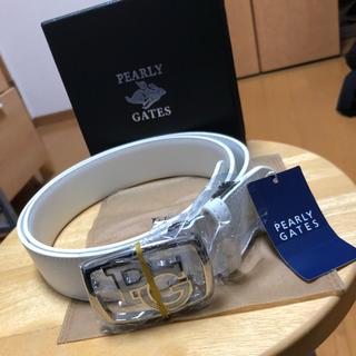 パーリーゲイツ(PEARLY GATES)の新品未使用タグ付き パーリーゲイツ ベルト(ベルト)