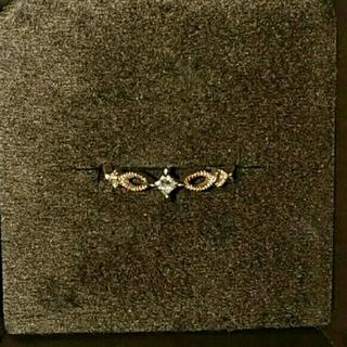 アガット(agete)のagete K10 リング 2本セット(リング(指輪))
