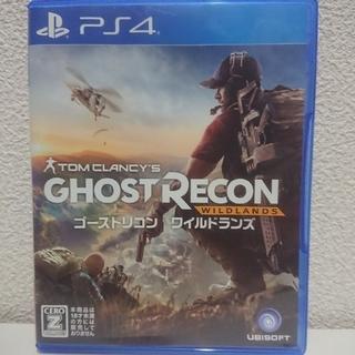 PlayStation4 - ゴーストリコン ワイルドランズ PS4 ソフト