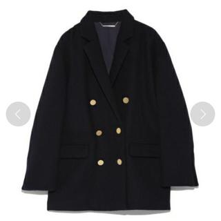 Mila Owen - 新品タグ付き♡ダブルボタンウールコート 定価1.7万円