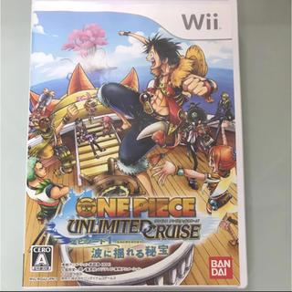 ウィー(Wii)のワンピース アンリミテッドクルーズ エピソード1 Wii(家庭用ゲームソフト)