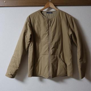 ワンエルディーケーセレクト(1LDK SELECT)のノーカラー中綿ジャケット(ノーカラージャケット)