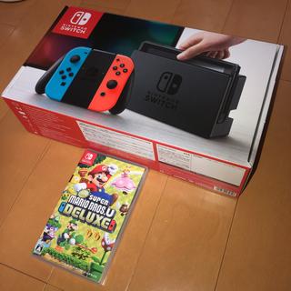Nintendo Switch - ニンテンドースウィッチ本体 新品未使用 マリオブラザーズ セット