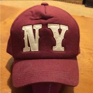 ニューエラー(NEW ERA)のキャップ ニューヨーク NY ワインレッド ヤンキース(キャップ)
