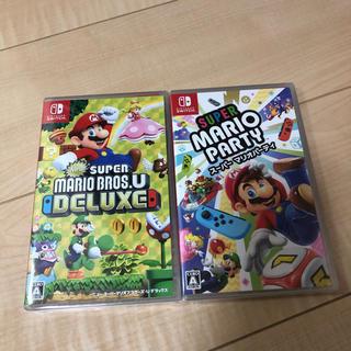 Nintendo Switch - 2本セット  スーパーマリオブラザーズ マリオパーティ