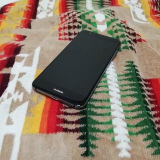 Huawei P10 lite ミッドナイトブラック 32GB 楽天モバイル(スマートフォン本体)
