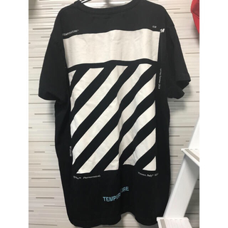 OFF-WHITE -  【 off-white temperature tee】S