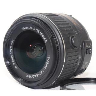 ニコン(Nikon)の✨美品✨NIKON AF-S DX 18-55mm 3.5-5.6G VR II(レンズ(ズーム))