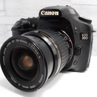 キヤノン(Canon)の★簡単操作★CANON キャノン EOS 30D レンズキット (デジタル一眼)
