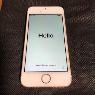 アイフォーン(iPhone)のiPhone 5s Gold 16 GB docomo(スマートフォン本体)