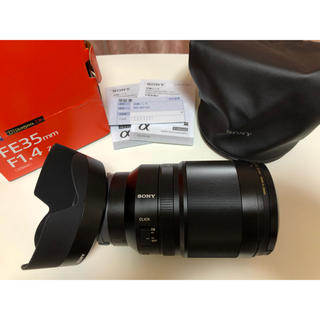 SONY レンズ SEL35F14Z 単焦点 ZEISS(レンズ(単焦点))
