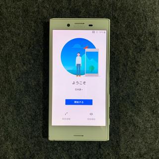 エクスペリア(Xperia)のXperia X Compact SO-02J ホワイト(スマートフォン本体)