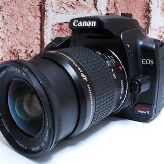キヤノン(Canon)の★超人気機種★ Canon KissX レンズセット (デジタル一眼)
