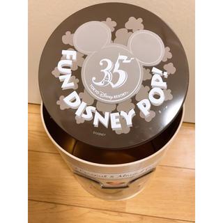 Disney - ディズニー35周年 お菓子空き缶