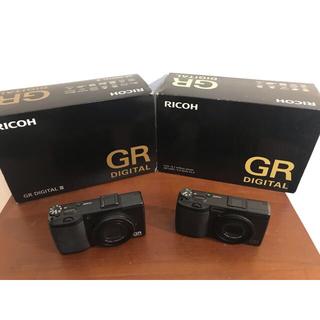 リコー(RICOH)のRicoh GRD + GRDIII セット(コンパクトデジタルカメラ)
