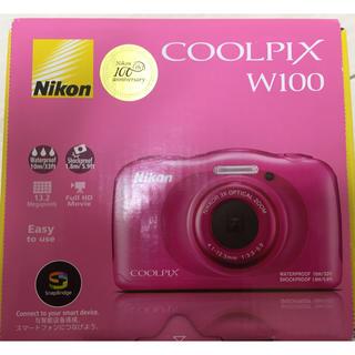 ニコン(Nikon)の新品未使用コンパクトデジタルカメラNikonCOOLPIX W100(コンパクトデジタルカメラ)
