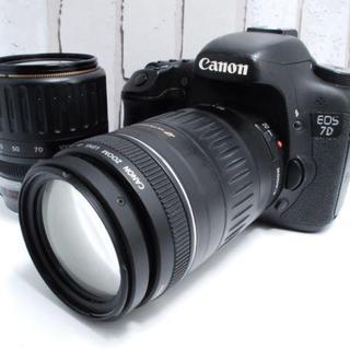 キヤノン(Canon)の★超人気★Canon 7D ダブルレンズ セット (デジタル一眼)