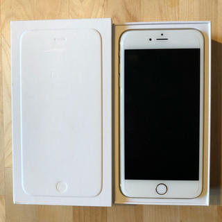 アップル(Apple)のI phone 6プラス ゴールド 16GB(スマートフォン本体)