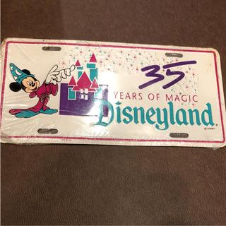 Disney - 本場 ディズニーランド 35周年記念プレート  カリフォルニア