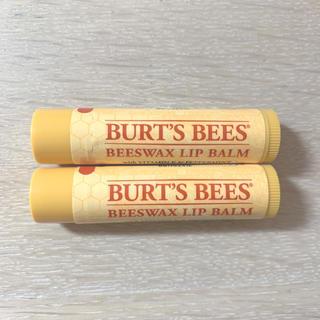 バーツビーズ(BURT'S BEES)のBURT'S BEES リップクリーム 2本セット(リップケア/リップクリーム)