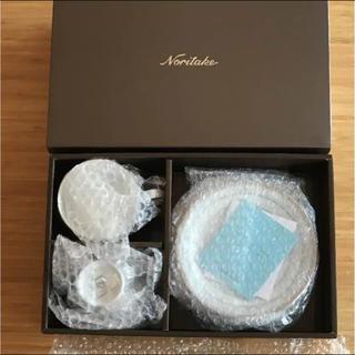 ノリタケ(Noritake)の【新品未使用】Noritake ティー・コーヒー碗皿 ペアセット(食器)