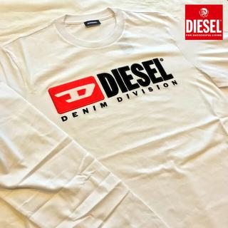 DIESEL - DIESELメンズ長袖Tシャツ LS-DIVISION 白M