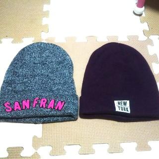 エイチアンドエム(H&M)のH&Mニット帽 美品(ニット帽/ビーニー)