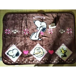 あったかくて気持ちいい 西川リビング スヌーピー アクリルひざかけ毛布(毛布)