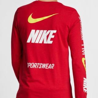 NIKE - Lサイズ NIKE ロングTシャツ 新品国内正規品RED