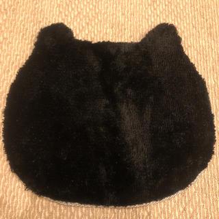 ニトリ(ニトリ)の黒ねこフロアマット【未使用】(フロアマット)