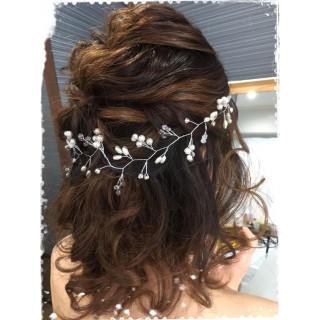 ⁑小枝のヘッドドレス⁑ シルバー 結婚式 前撮り等に(その他)
