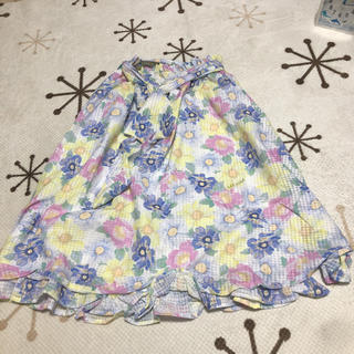 リズリサ(LIZ LISA)のパステルフラワースカート LIZ LISA(ひざ丈スカート)
