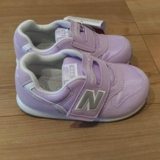 ニューバランス(New Balance)の箱なし ニューバランス ベビー スニーカー 16.5cm バイオレット(スニーカー)