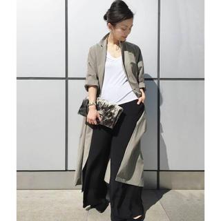 アパルトモンドゥーズィエムクラス(L'Appartement DEUXIEME CLASSE)のAP STUDIO  cotton light coat  ロングコート(トレンチコート)