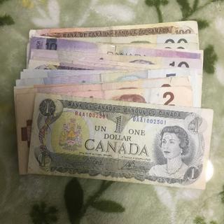 【稀少】カナダ 旧紙幣 カナダドル(貨幣)