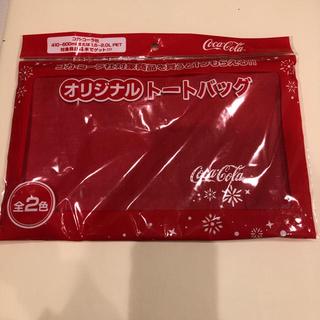 コカコーラ(コカ・コーラ)のコカコーラ トートバッグ 非売品(トートバッグ)
