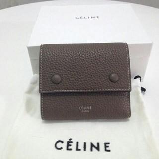 セリーヌ(celine)のcelineセリーヌ ミニ財布 三つ折り財布(折り財布)