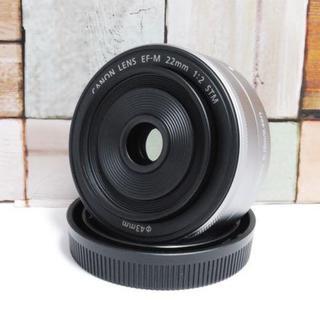 キヤノン(Canon)の★超美品★ Canon EF-M 22mm STM(レンズ(単焦点))