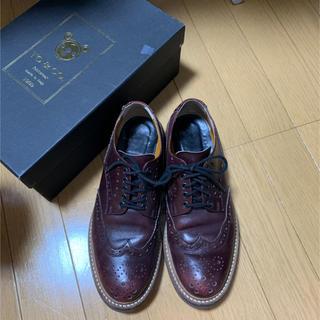 トゥーアンドコー(TO&CO.)のTO&CO レースアップシューズ ブラウン(ローファー/革靴)