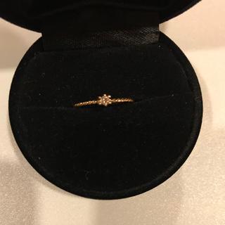 ノジェス(NOJESS)のNOJESS ノジェス 1粒ダイヤモンドリング k10(リング(指輪))