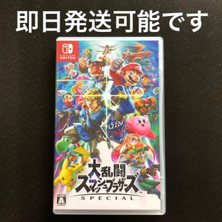 ニンテンドースイッチ(Nintendo Switch)の任天堂スイッチ スマッシュブラザーズ ソフト♡(家庭用ゲームソフト)