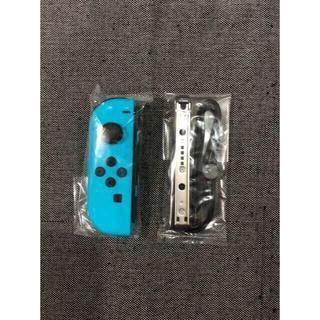 ニンテンドースイッチ(Nintendo Switch)の新品未使用 ジョイコン ネオンブルー L側 ニンテンドースイッチ(その他)