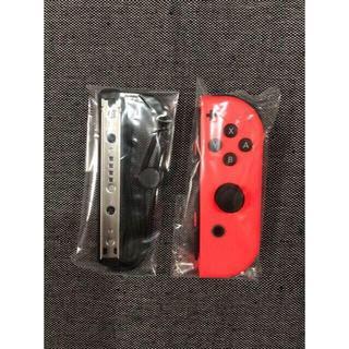 ニンテンドースイッチ(Nintendo Switch)の新品未使用 ジョイコン ネオンレッド R側 ニンテンドースイッチ(その他)