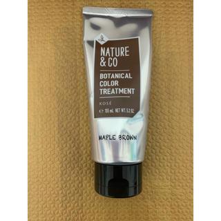 ネイチャーアンドコー(Nature&Co)のネイチャー&コー  ヘアカラートリートメント(カラーリング剤)